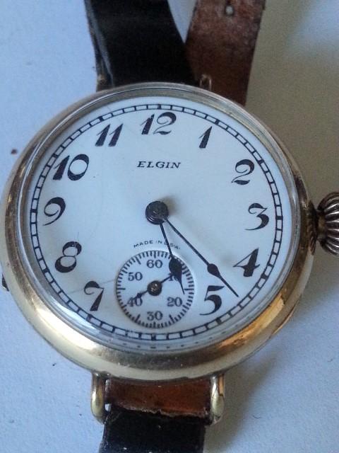 Sterling silver Elgin Wrist Watch  R2000
