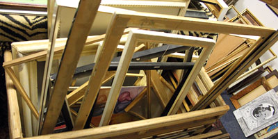 Hundreds of used frames to choose from