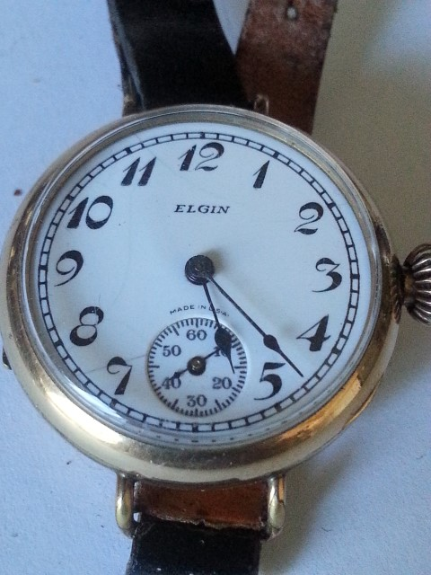 Sterling silver Elgin Wrist Watch  R2000