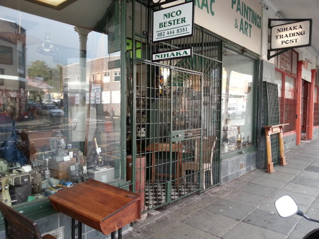 THE SHOP FROM OUTSIDE
